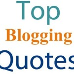 top blogging quotes