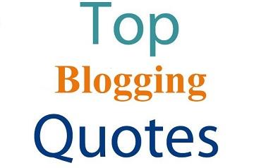 top blogging quotes