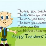 Happy Teacher's Day SMS Messages