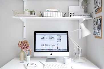 perfect home office for blogging