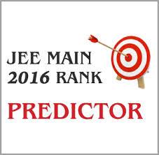 JEE main rank predictor 2016