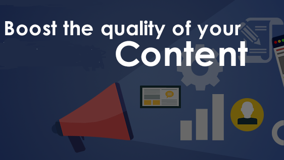 boost your content quality