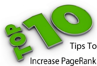 best Ways to increase Page Rank