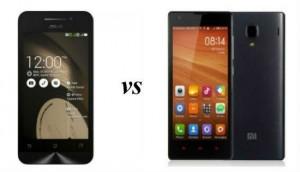 Xiaomi Redmi 1S Vs. Asus Zenfone 4