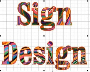 new sign designs