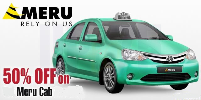 Meru cabs coupons