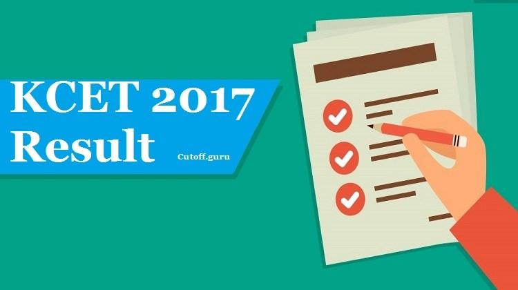 KCET 2017 result