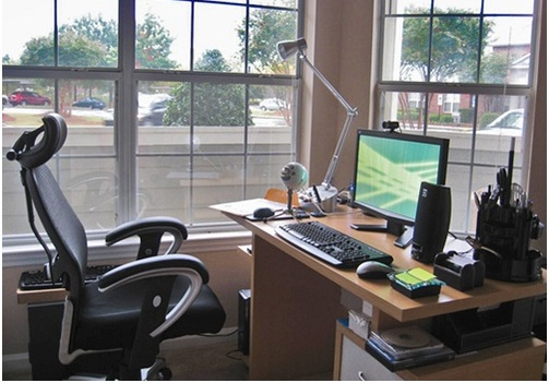 Make home office more comfortable