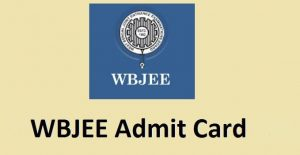 WBJEE Admit Card