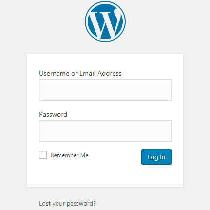 Custom WordPress Login