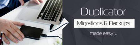 Duplicator Migration