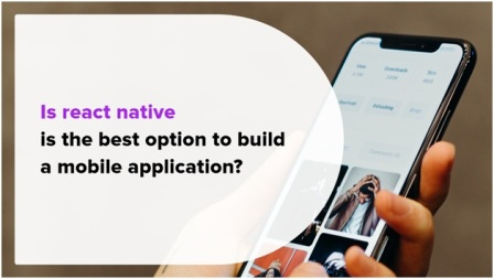 Build a mobile application
